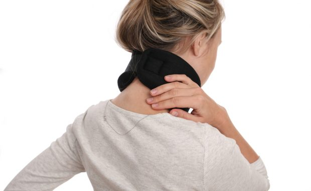 woman with cervical spondylosis